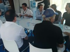 Chárter y elementos de seguridad, temas abordados en los talleres organizados por ANEN en el Salón Náutico de Barcelona